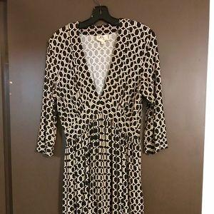 Milly geometric print dress
